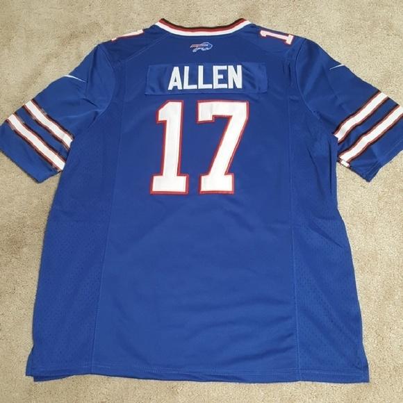 1351226e5 Josh Allen Buffalo Bills Jersey New Stitched
